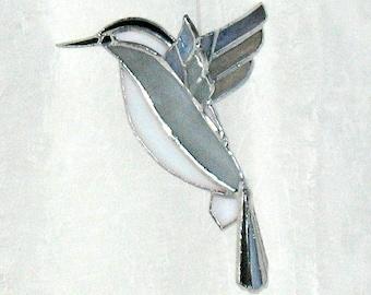 Oiseau m sange vitrail cadeau de f te des m res grand vol for Fenetre a cardinal