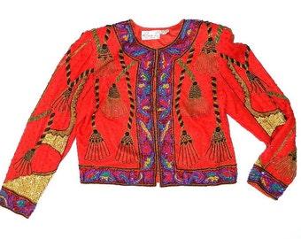 Vintage Sequin Blazer