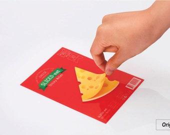 Cheese Sticky Note Memopad Notepad