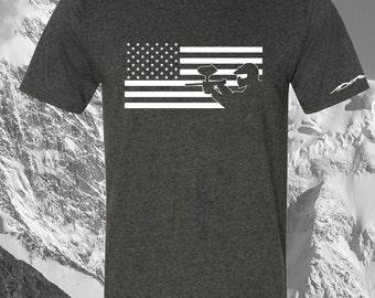 Paintball Shirt USA Flag