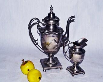 Rare Vintage Teapot and Cream bowl
