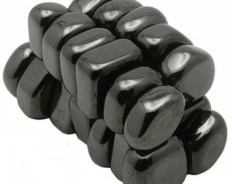 Tumbled Hematite Magnets - 1 Pound
