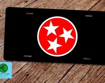 Tn Tristar Flag Etsy