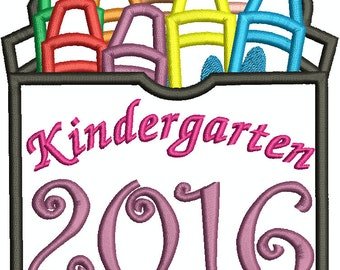 Kindergarten 2016 Box of Cryaons 136