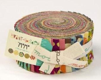 Avant Garden Jelly Roll by MoMo for Moda