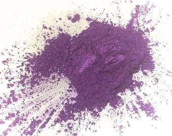 PURPLE RAIN Mineral Eye Shadow - Natural Mineral Makeup - Gluten Free Vegan Face Color