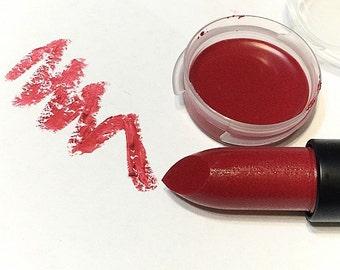 RED WINE Natural ORGANIC Lipstick - Mineral Lip Butter - Botanical Lipstick - Vegan Gluten Free