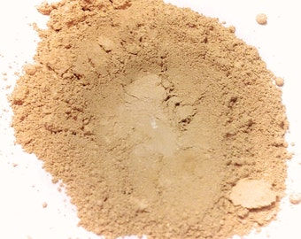 PEBBLE CREAM Mineral Foundation - Powder Mineral Makeup Gluten Free - Original Blend