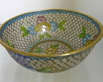 Plique-A-Jour Bowl