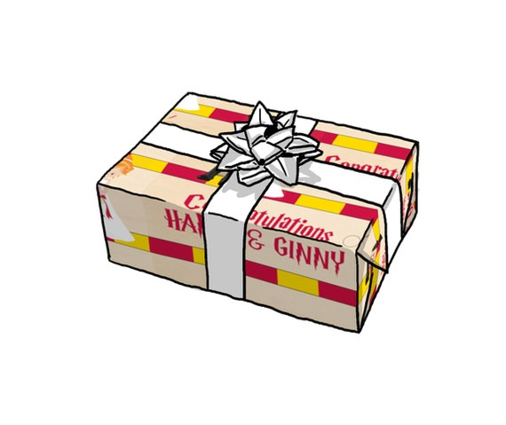 harry potter wrapping paper There is only one way to give gifts to the harry potter fans in your life- wrapped in harry potter wrapping paper click here to see where you can buy them.
