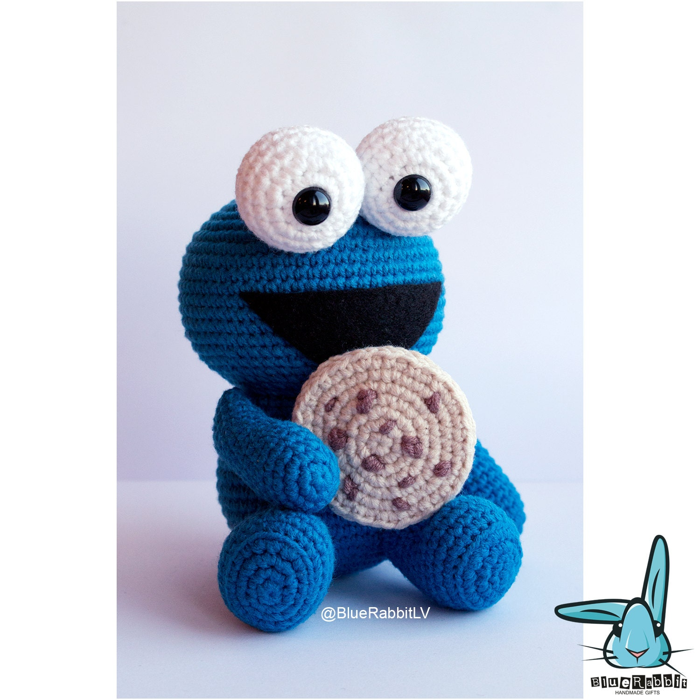Amigurumi Cookie Monster : Cookie Monster. PDF file amigurumi crochet by BlueRabbitLV ...