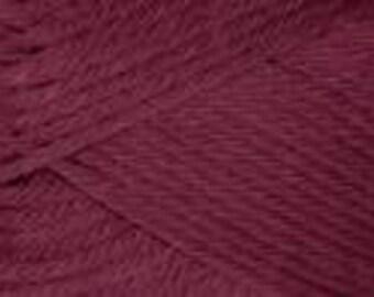 Rowan Pure Wool  Worsted Yarn Color 123 Crimson. 100g ball.  Special Savings!!  Regular price is 11.00.