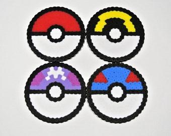 Pokeball Coasters - 4 Pack