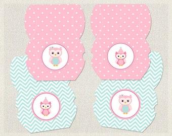 owl pillow box template - owl pillow box etsy