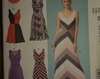McCalls M7121, sizes 6-14, dress, evening wear, UNCUT sewing pattern, craft supplies
