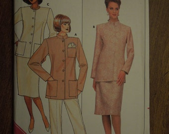 Butterick 4048, size 14-18, misses, womens, UNCUT sewing pattern, separates, unlined jacket, pants, skirt, craft supplies