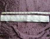 Ivory satin ribbon and lace wedding belt