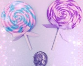 Sweet treat lollipop hair clip