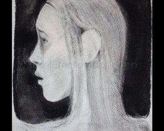 Portrait , original art