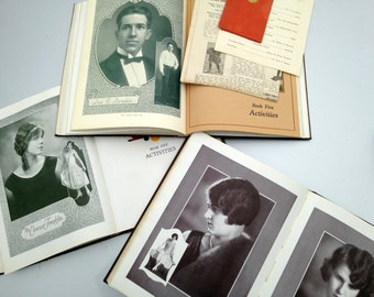 1920's Yearbooks Maryville College Tennessee Chilhowean