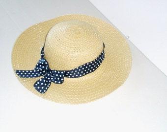 Sun Hat - Summer-Women's Wide Brim - Daisy- Beach- Pool hat