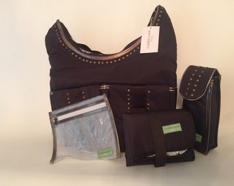 Caden Lane Sage Diaper Bag