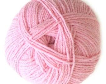 Pink Knitca Sock Yarn, Superwash Merino Sock Yarn, Sock Weight Yarn