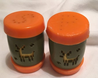 Vintage Salt and Pepper Shakers (Indian School)
