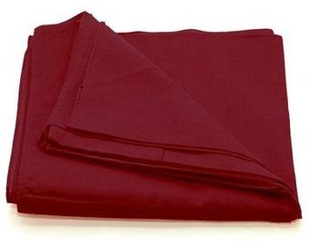 120 bandanas - red, blue, green, black, white, yellow assortment
