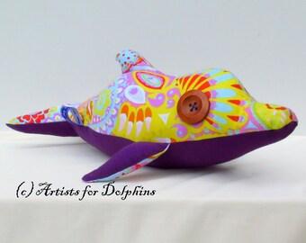 Wacky the Dolphin; Dolphin toy; Dolphin plush