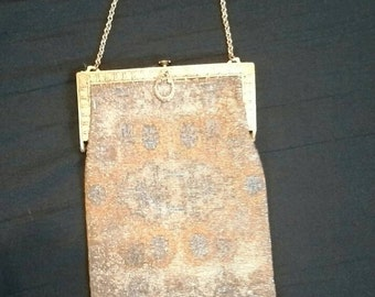 Antique French Steel-cut Micro Beaded Purse