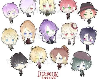 Diabolik Lovers stickers