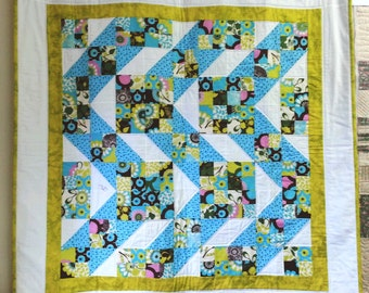 Jacob's Ladder Quilt Pattern - Suitable for Beginners