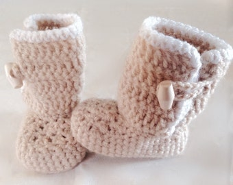 Little Alice Oatmeal Ugg Boots