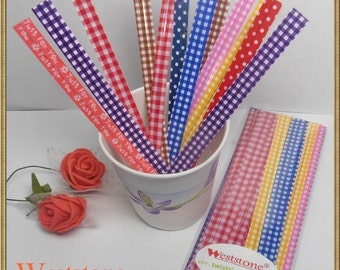 50 pcs 5 in seasonal Twist Ties for Candy Cello Bags
