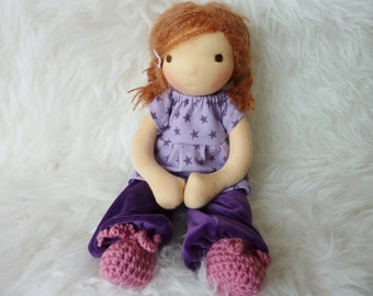"Surie 12"" Waldorf inspired Doll"