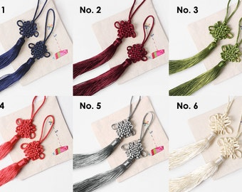 Set of 6 Korean traditional Knots Tassels