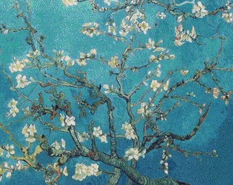 Branches with Almond Blossom PDF Cross Stitch Pattern