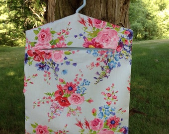 NEW - Laundry - Clothes Pin Bag - Peg Bag - Accessories Bag -  Eco Friendly