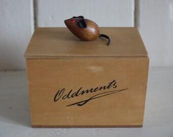 Vintage Keepsake Trinket Box