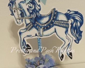 Carousel Horse Table Centerpiece