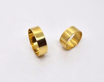 band ring / brass