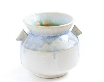 Light Blue Flower Vase