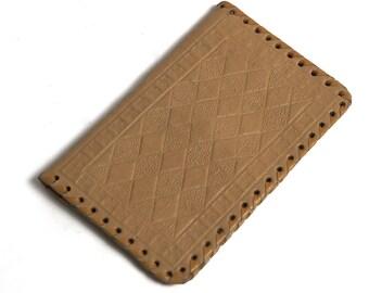 Vintage Leather Vintage Men's Wallet, Brown Leather Money Purse, Slim Fold Wallet, Change Purse, Vintage Leather Portfolio, Folding Billfold