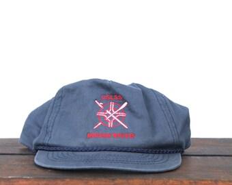 Vintage USLSS US Life Saving Service Indian River Delaware Trucker Hat Snapback Baseball Cap