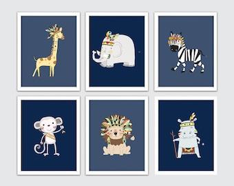 Baby Tribal Print Set   Boho Nursery Ideas   Tribal Kids Bedroom   Tribal  Bedroom Decor