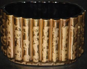 Gold Art Vase, 14 carat gold