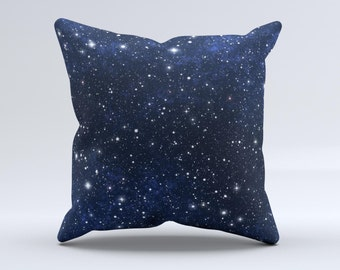 The Bright Starry Sky - iNK-Fuzed Decorative Throw Pillow