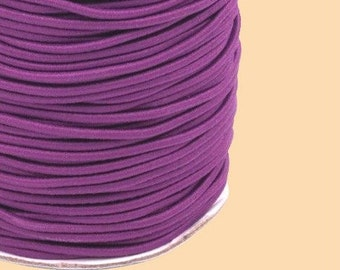 Rubber cord around 2 mm purple