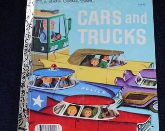 Cars & Trucks by Little Golden Book